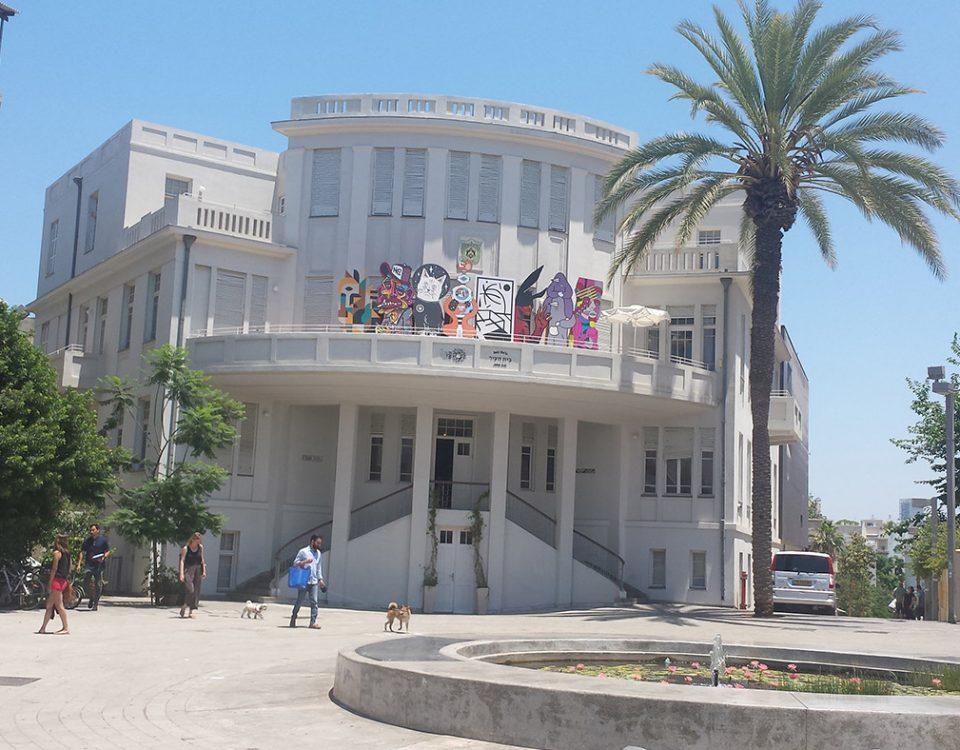 Tel Aviv, History, Town Planning