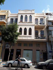 Development of Tel Aviv