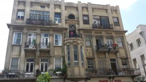 Eclectic architecture, Tel Aviv, Megidovitch