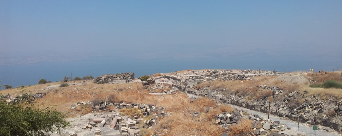 Sussita, archaeology in Israel, conservation, history of Israel