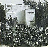 Tel Aviv, History, Dizengoff, Statehood